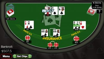 Casino blackjack strategy chart